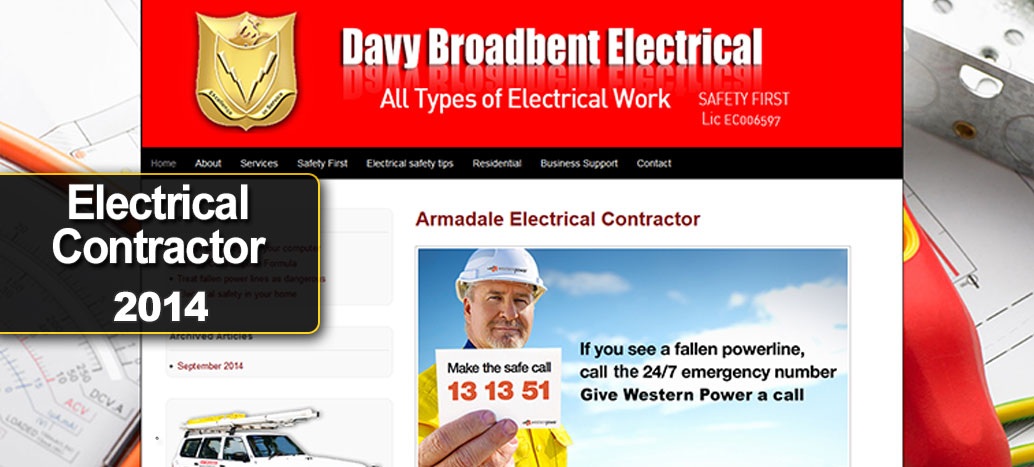 Davy Broadbent Electrical 2014