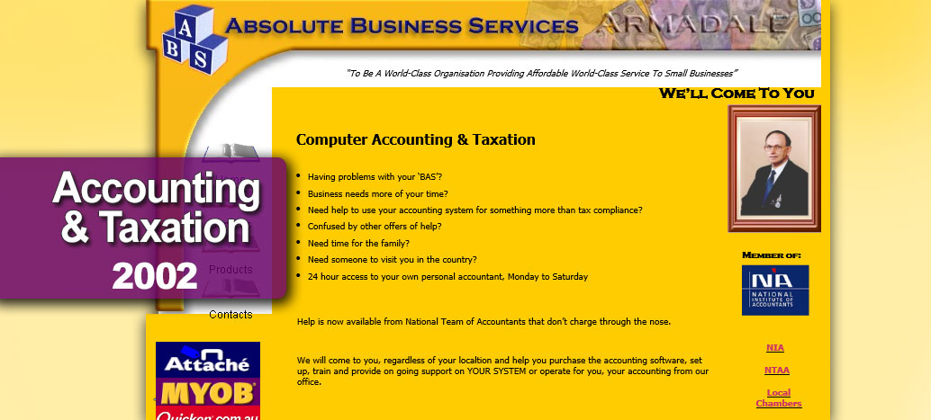 Absolute Business Solutions  Web site Developer busyliz.com