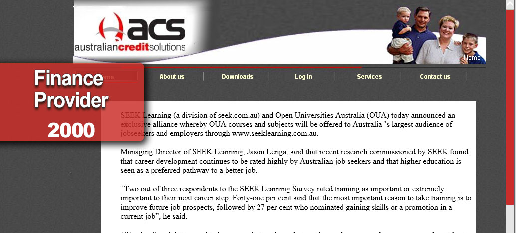 Australian Credit Solutions Web site Developer busyliz.com
