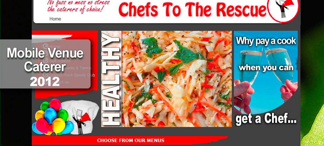 Chefs to the Rescue  Web site Developer busyliz.com
