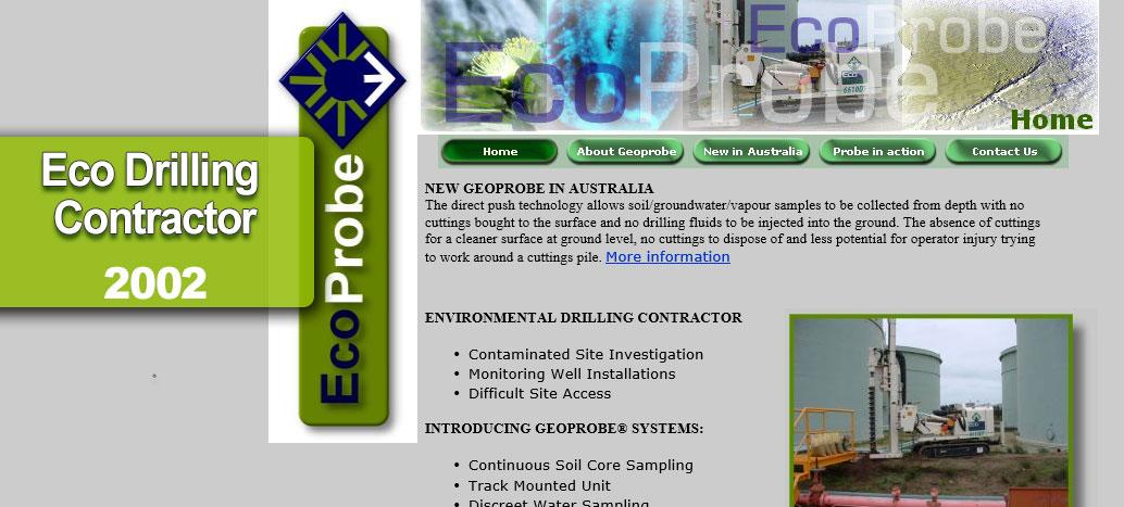 EcoProbe Perth Web site Developer busyliz.com