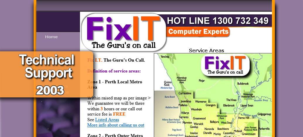 Fix IT  Web Site busyliz.com