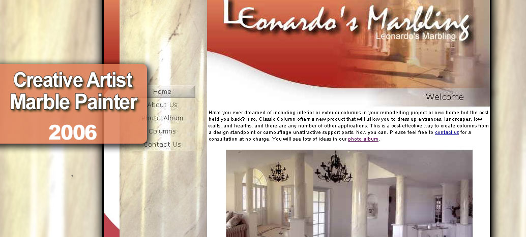 Leonardo's Marbling Web Site busyliz.com