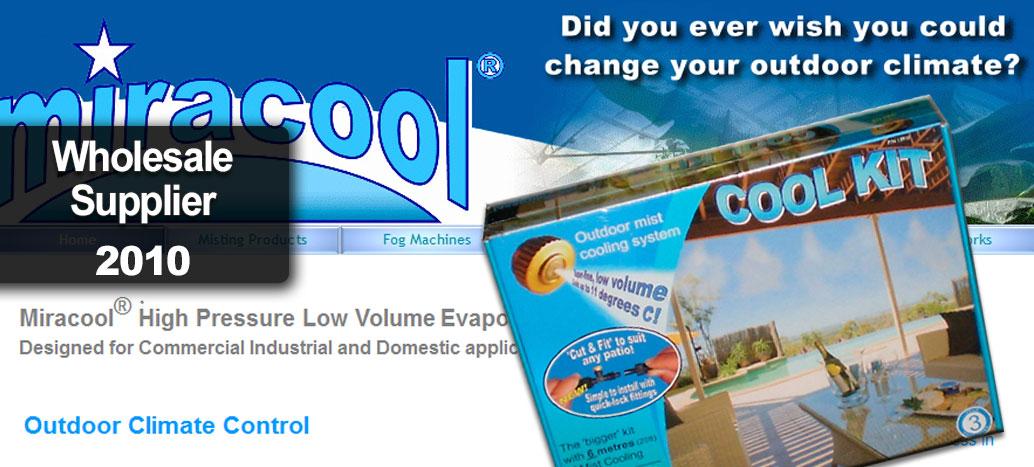 Miracool® Official Website  Website by busyliz.com
