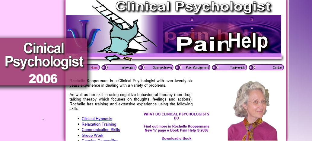 Pain Help  Rochelle Cooperman Clinical Psychologist Web Site busyliz.com
