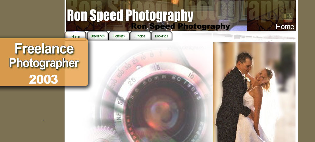 Ron Speed Photography  Web Site by busyliz.com